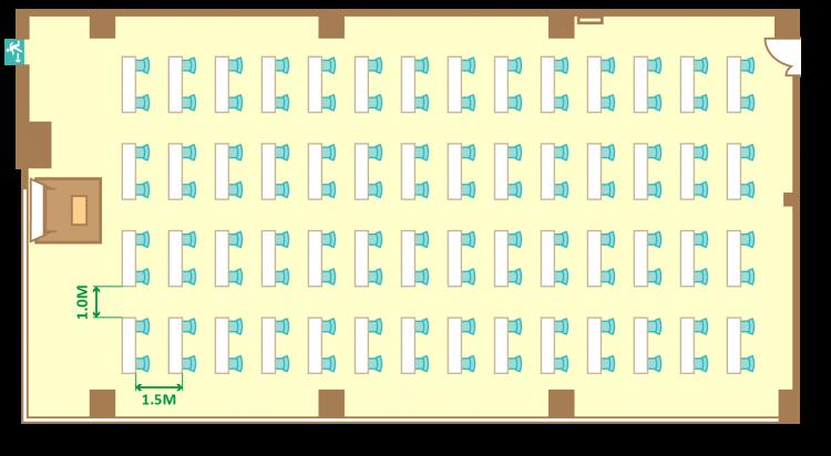 2名掛ゆとりスクール(112席)