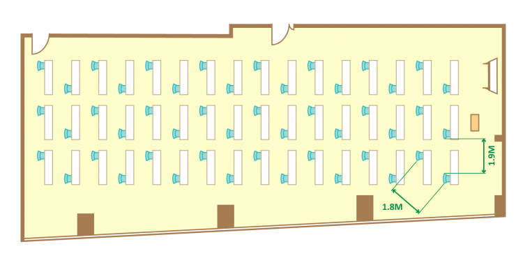 1名掛ゆとりスクール(48席)