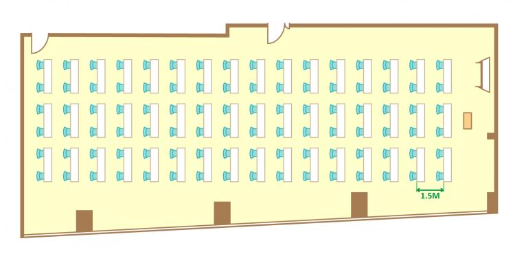 2名掛ゆとりスクール(96席)