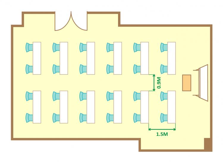 2名掛ゆとりスクール(24席)