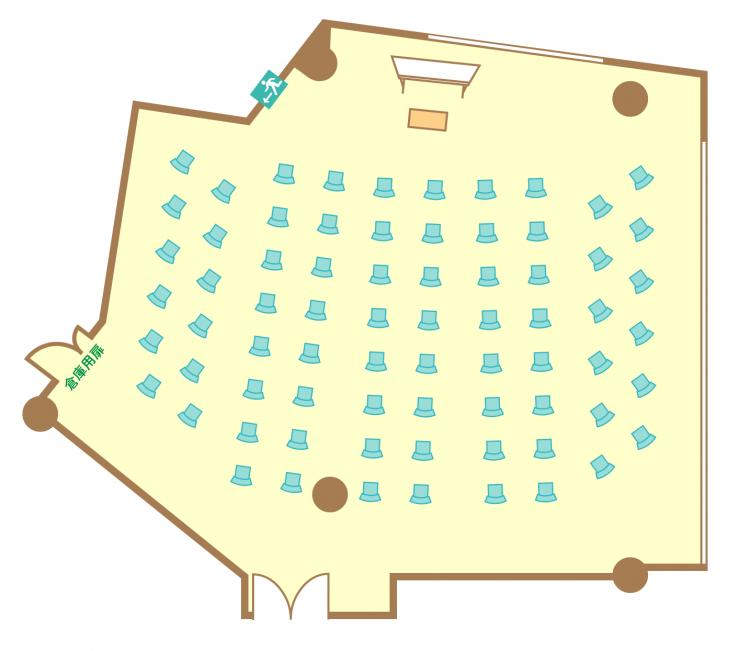 シアター(72席)