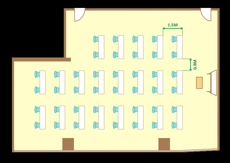 2名掛ゆとりスクール(42席)