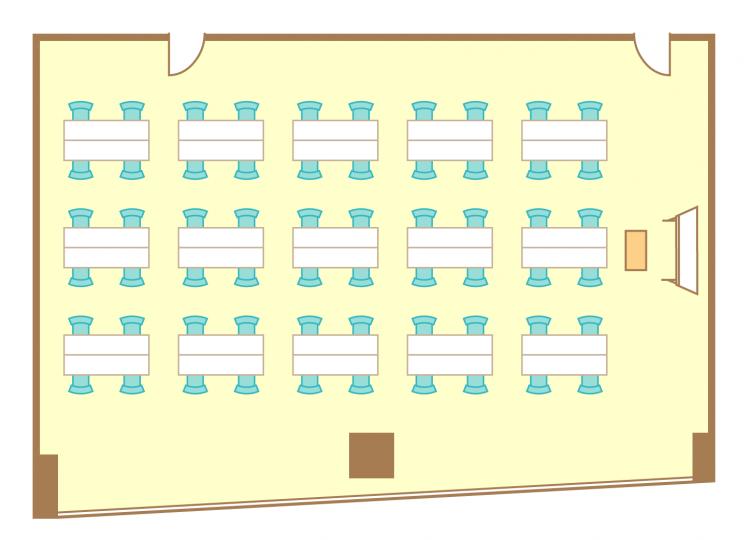 島型(4名15島)