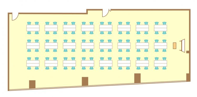 島型(4名24島)