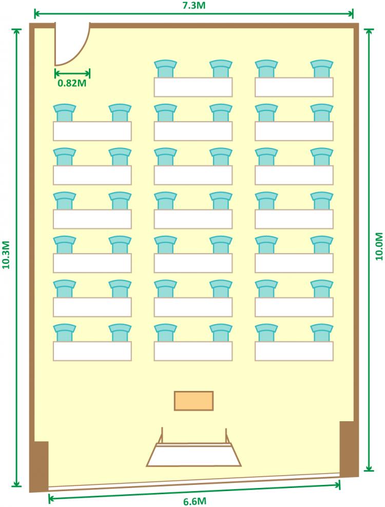 2名掛スクール(40席)