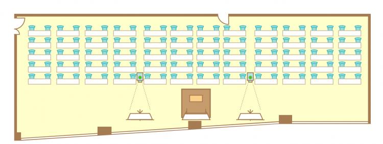 2名掛横スクール(120席)