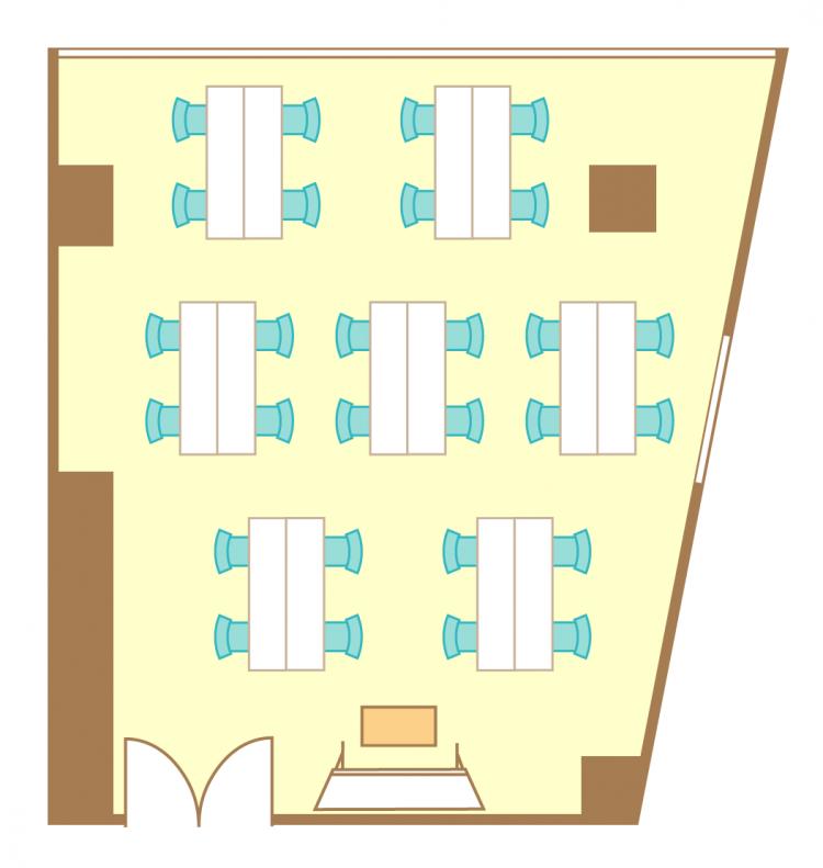 島型(4名7島)