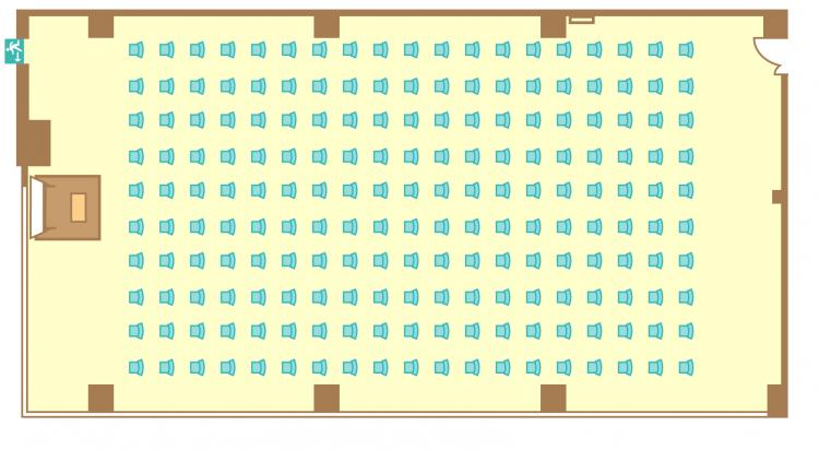 シアター(190席)