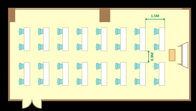 2名掛ゆとりスクール(32席)