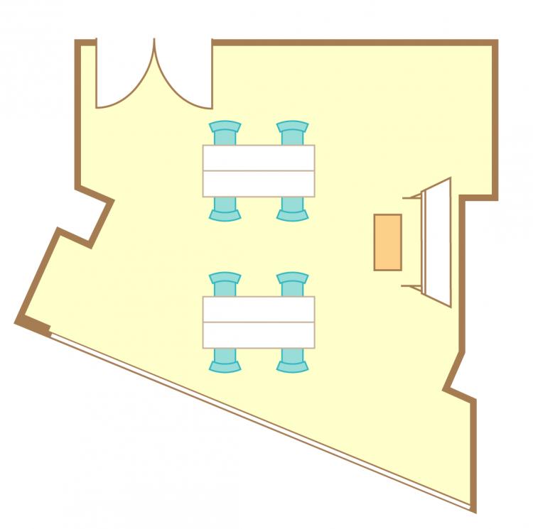 島型(4名2島)