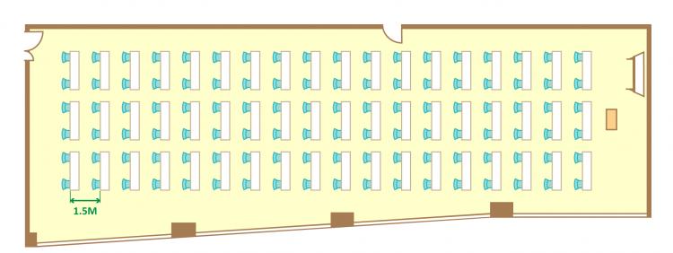 2名掛ゆとりスクール(108席)