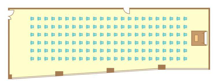 シアター(138席)