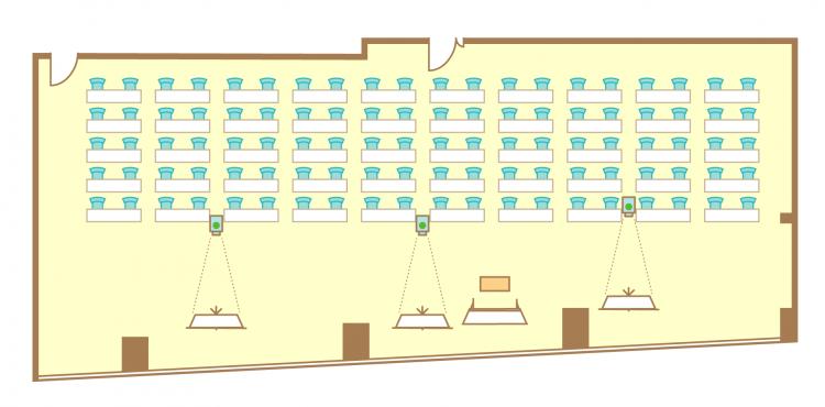 2名掛横スクール(100席)