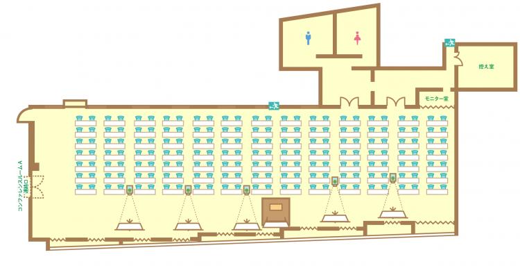 2名掛横スクール(182席)