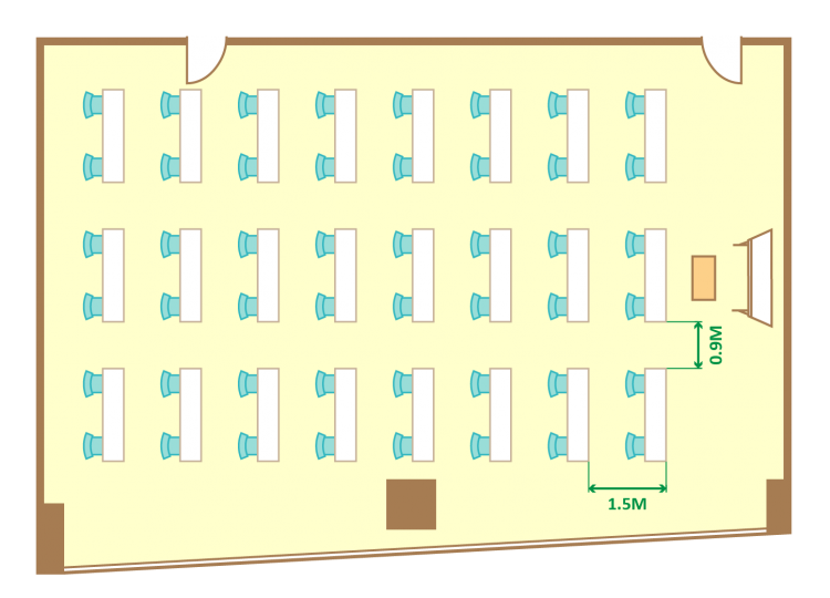 2名掛ゆとりスクール(48席)