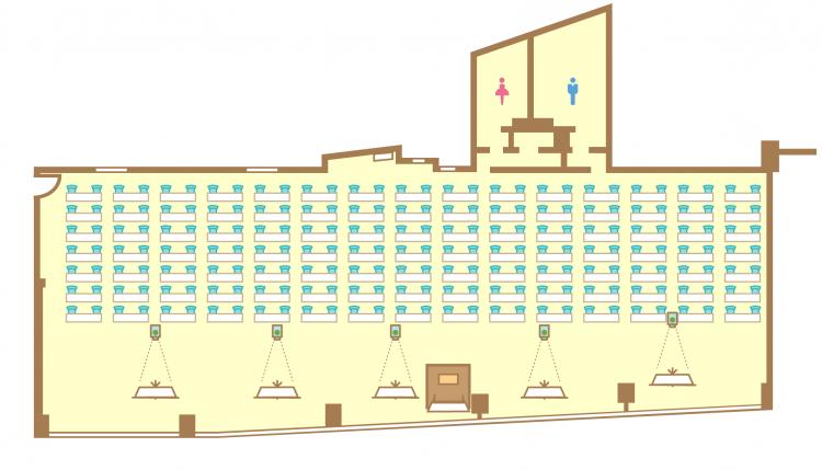 2名掛横スクール(210席)