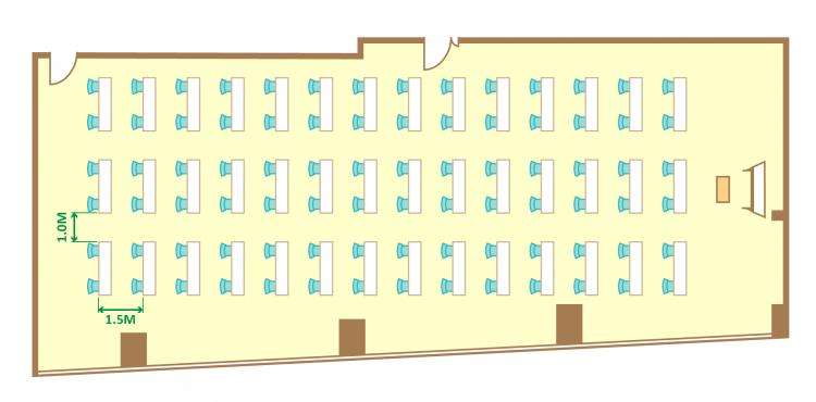 2名掛ゆとりスクール(84席)