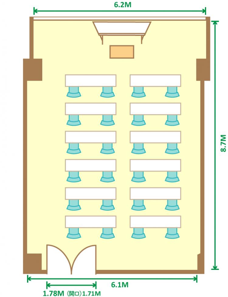 2名掛スクール(24席)