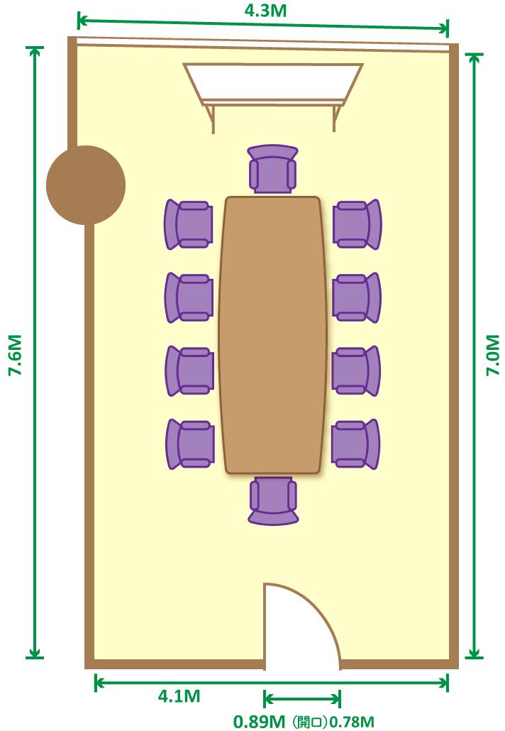 円卓(10席)