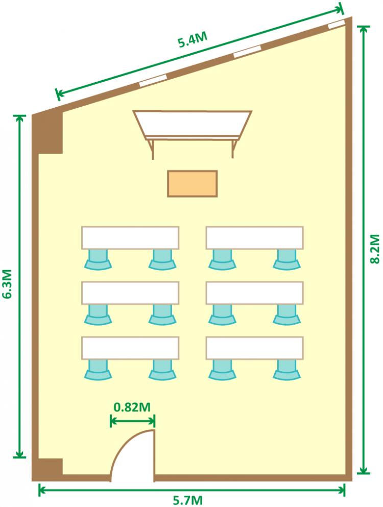 2名掛スクール(12席)