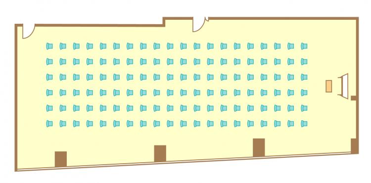 シアター(120席)