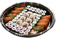 巻き寿司とおいなりさんの 盛り合わせ