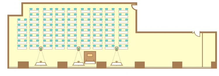 2名掛横スクール(140席)