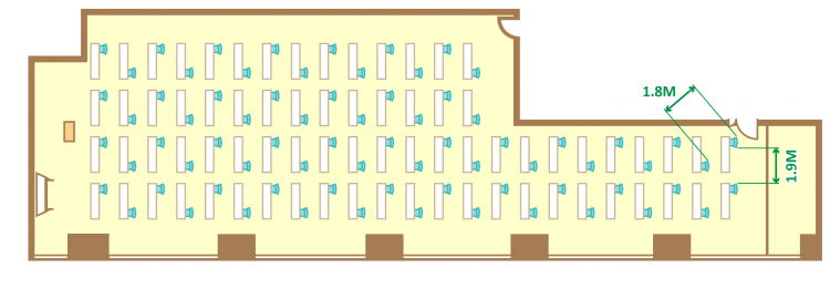 1名掛ゆとりスクール(74席)