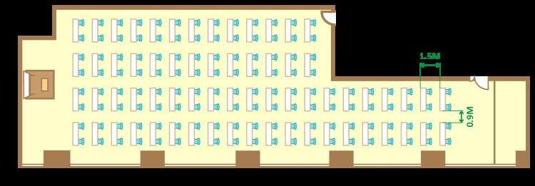 2名掛ゆとりスクール(132席)