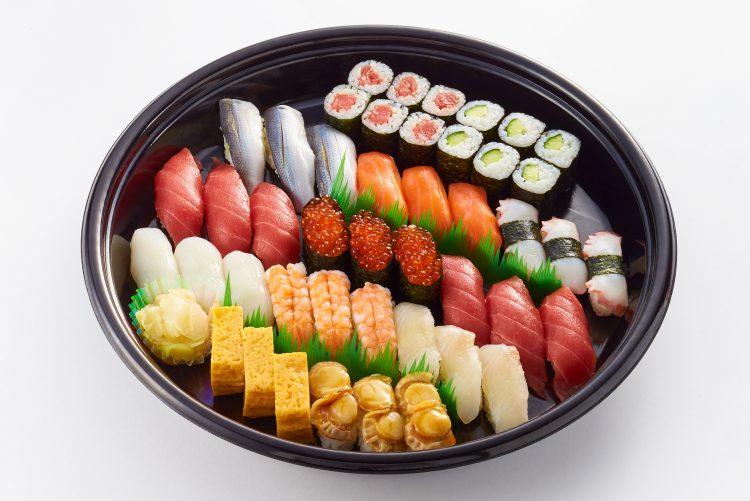 水仙オードブル-にぎり寿司