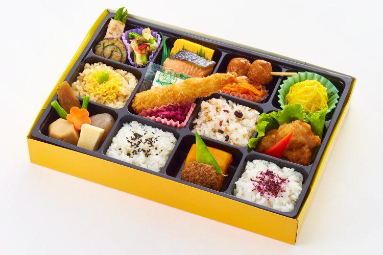 水仙お弁当-にぎわい