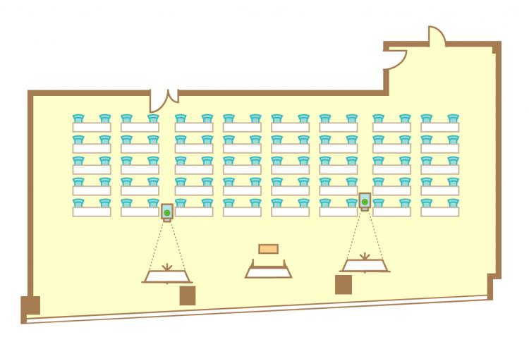 2名掛横スクール(80席)