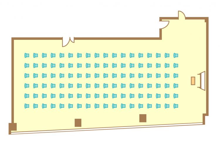 シアター(108席)
