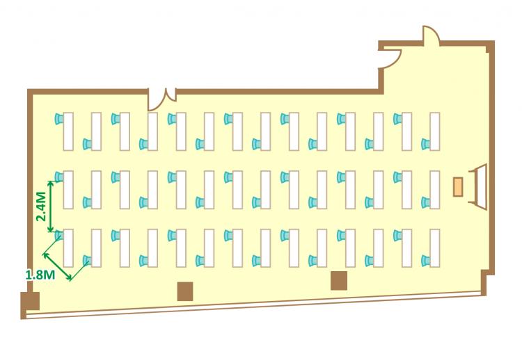 1名掛ゆとりスクール(42席)
